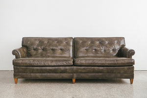 Henredon Leather Sofa