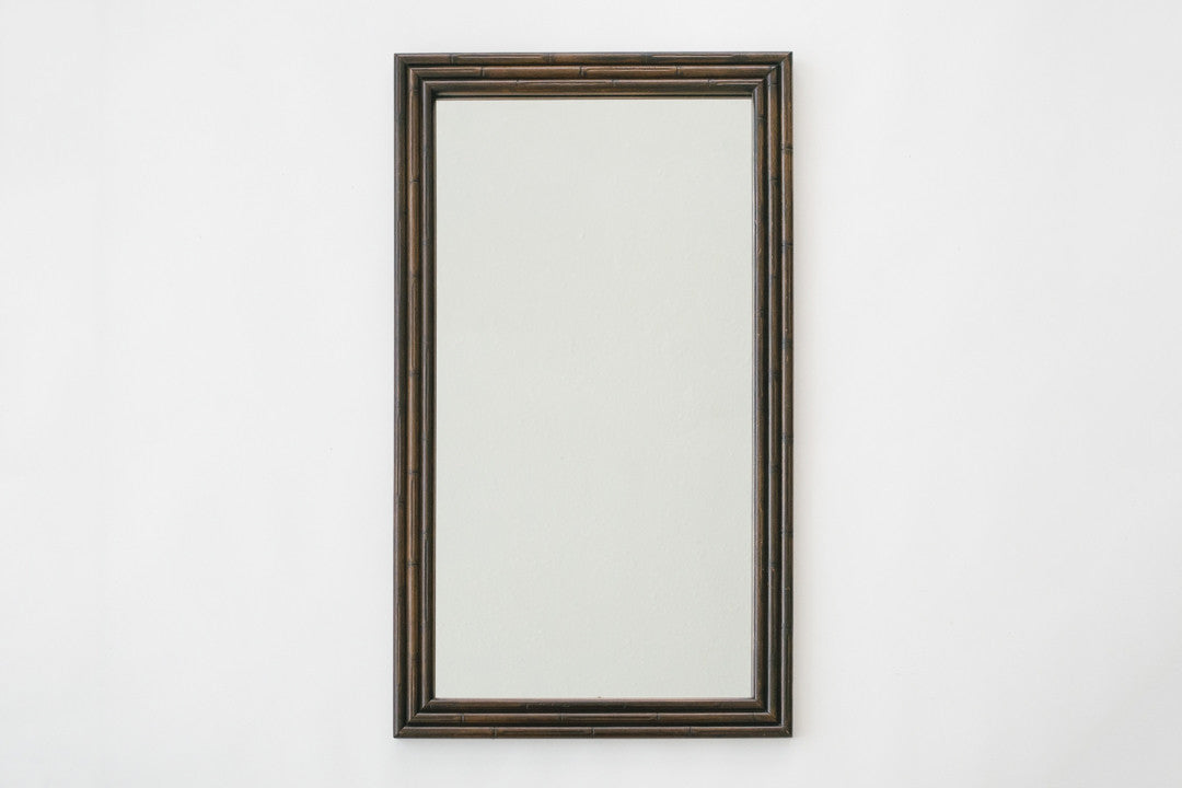 Dark Bamboo Mirror