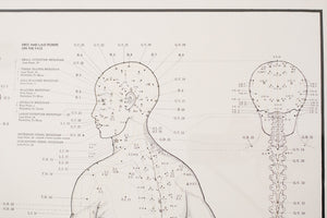 70s Acupuncture Chart