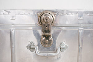 Locking Metal Trunk