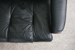 MC Bruksbo Leather Sofa