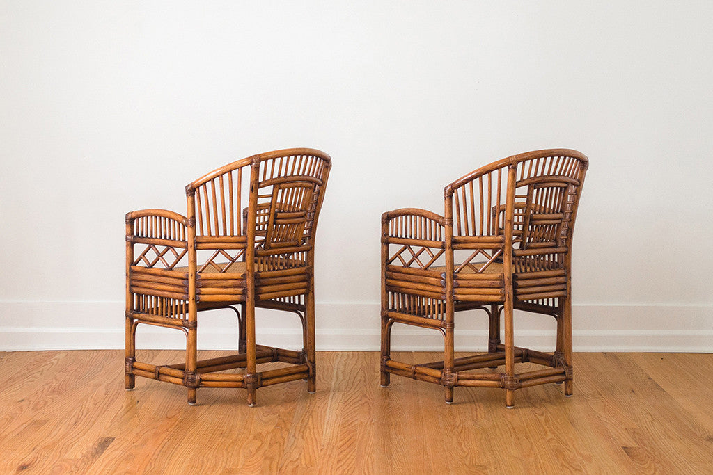 MCM Chinoiserie Cafe Chairs