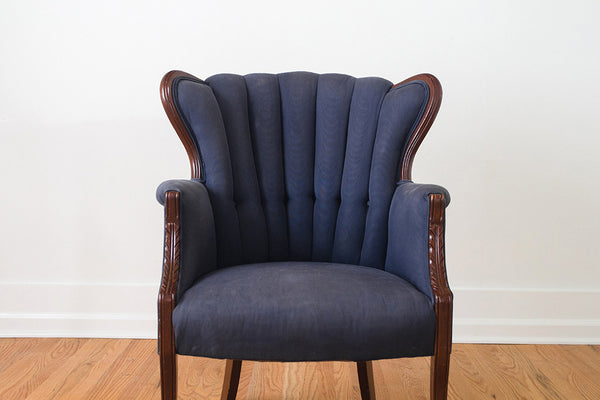 Greyhound Shipping Quote >> Silk Channel Back Wing Chair - Homestead Seattle