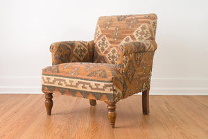 Kilim Rug Club Chair