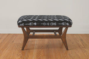 HS Collection Ikat Ottoman