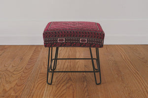 HS Collection Kilim Footstool