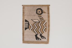 MCM Handwoven Wool Tapestry