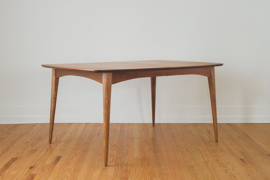 mcm house hudson dining table mid century round with leaf and chairs uk teak