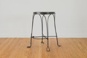 Industrial Twisted Metal Stool