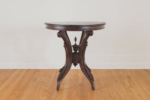 Dark Wood Cafe Table