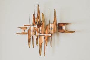 MCM Copper Wall Sculpture