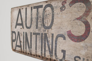 Antique Auto Shop Sign