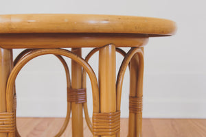 MCM Bamboo Side Tables
