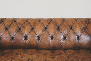 Antique Leather Chesterfield