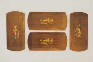 Set of Vintage Trays