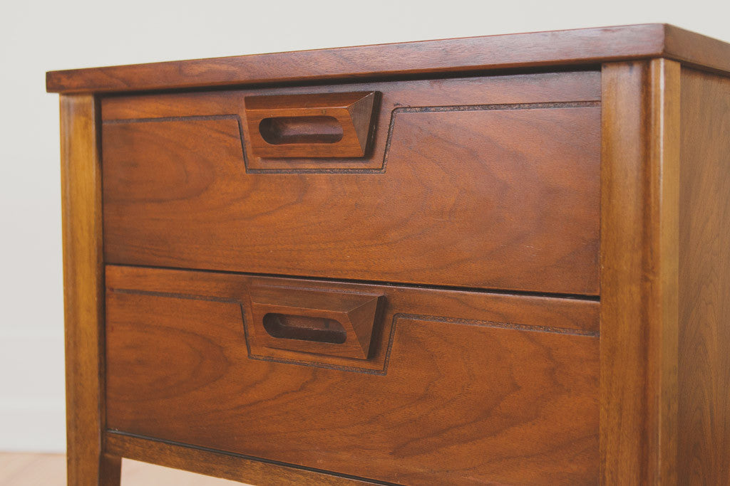 MCM Walnut Nightstands