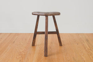 Rustic Japanese Wood Stool