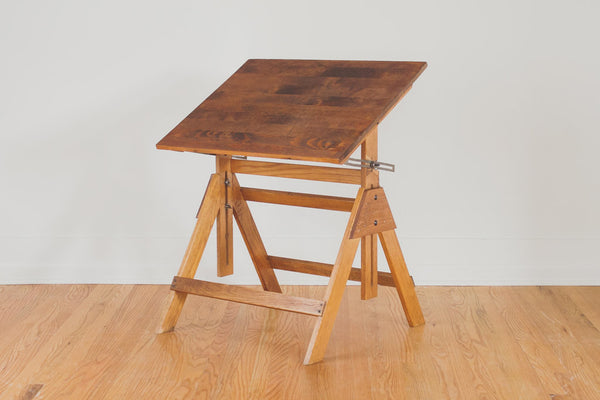 Vintage Industrial Drafting Table Homestead Seattle