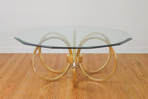 Regency Gold Coffee Table