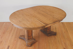 Vintage Oak Dining Table