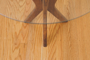 MCM Walnut Side Table