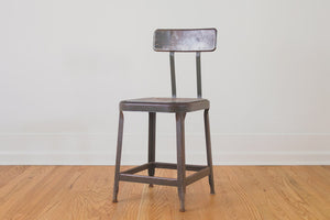 Industrial Shop Chair Set