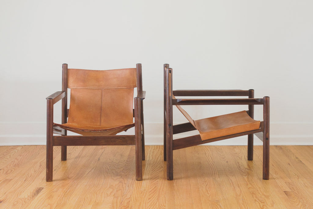 Exceptionnel MCM Roxinho Sling Chairs