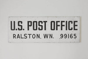 Large Industrial USPS Sign