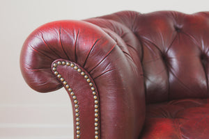 English Leather Chesterfield