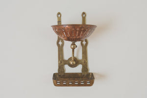 Brass & Copper Soap Tray
