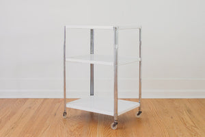 Vintage Metal Bar Cart