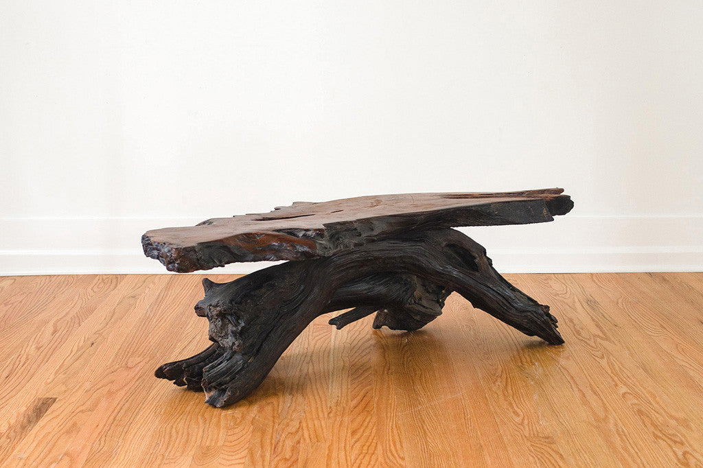 MCM Live Edge Coffee Table