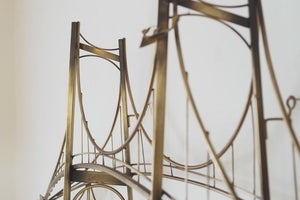 Jere Brass Bridge Sculpture