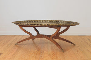 Brass Tray Coffee Table
