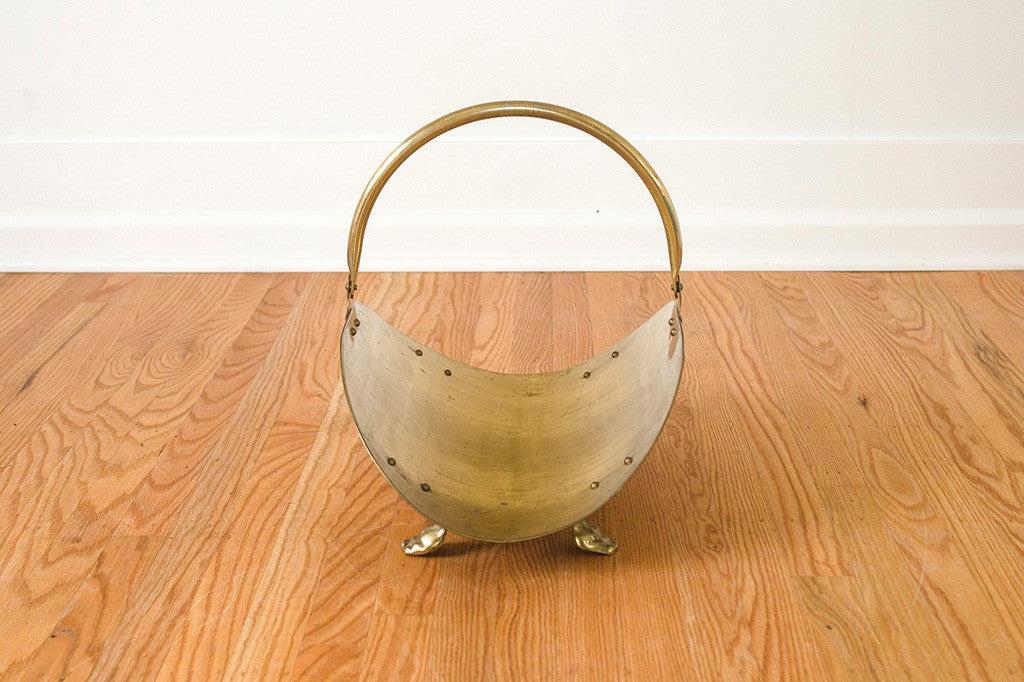 Brass Blanket Holder