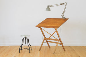 Folding Anco Drafting Table