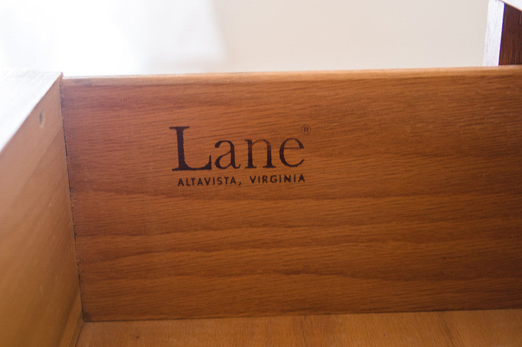 MCM Lane Highboy Dresser