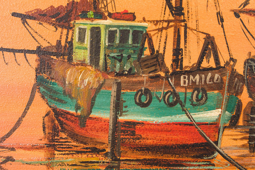 MCM Boat Painting