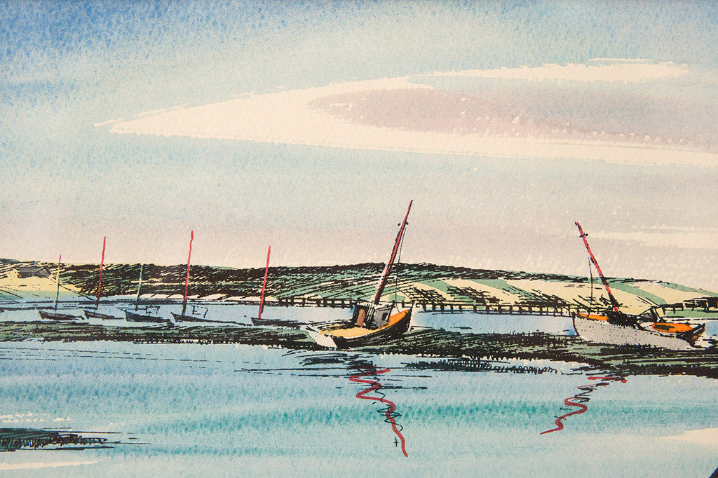 Cape Cod Watercolor Sketch