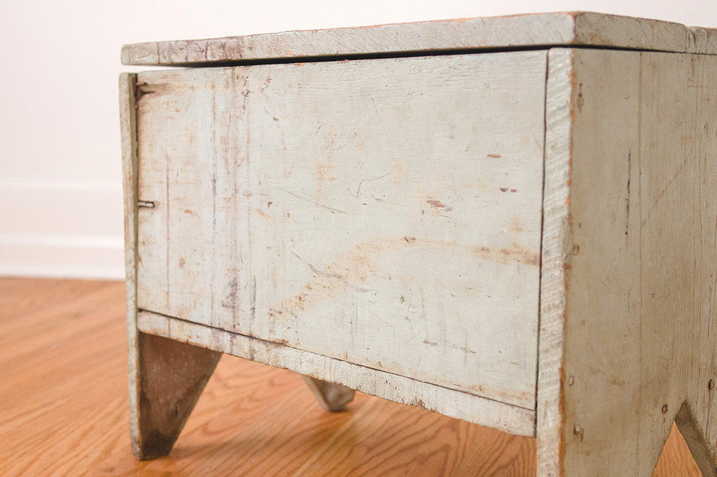 Farmhouse Storage Stool