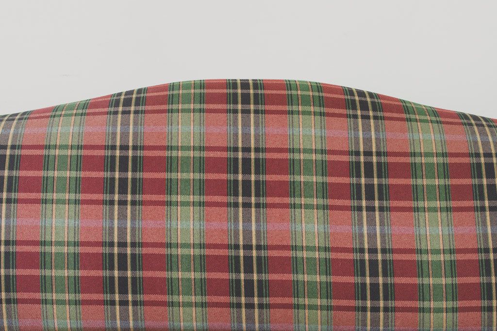 Plaid Camelback Sofa Homestead Seattle