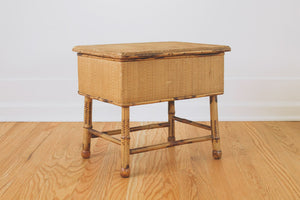 Bamboo Storage Stool