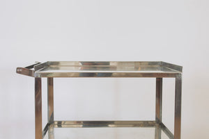 Stainless Steel Bar Cart