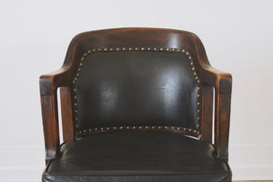 Antique Library Chair