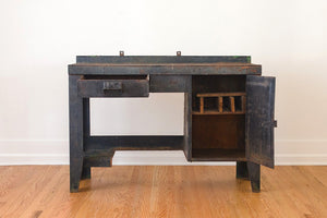 Industrial Iron Shop Desk
