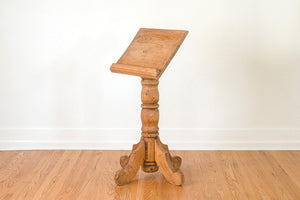 Antique Raw Oak Easel