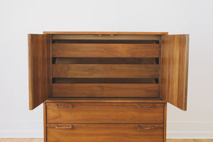 MCM Walnut Highboy