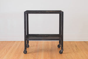 Steel Industrial Bar Cart
