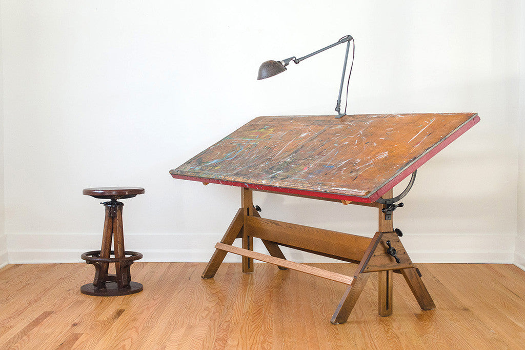 Greyhound Shipping Quote >> Hamilton Studio Drafting Table - Homestead Seattle