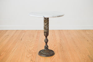 Marble & Brass Table